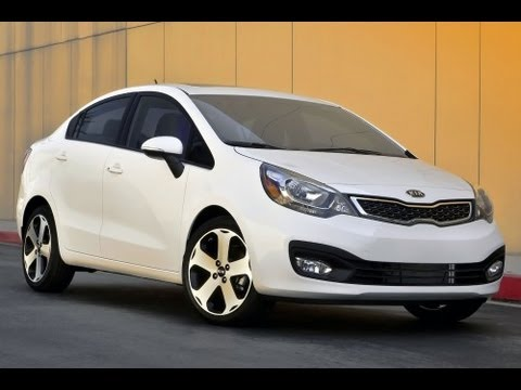 2012 Kia Rio Sedan Review 1.6 L 4 Cylinder