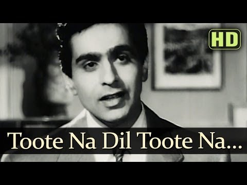 Toote Na Dil Toote Naa (HD) - Andaz Songs - Nargis - Dilip Kumar - Raj Kapoor - Mukesh