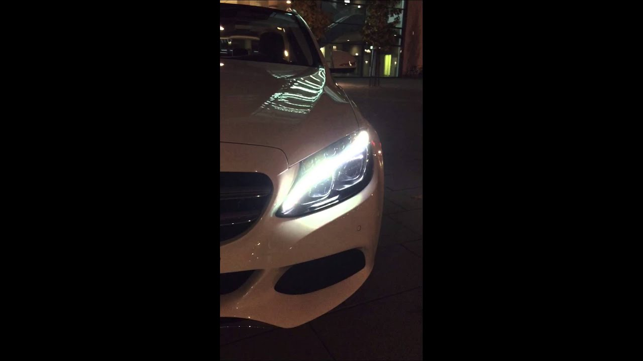 mercedes benz c class 2015 led light fading youtube ForLed Light For Mercedes Benz