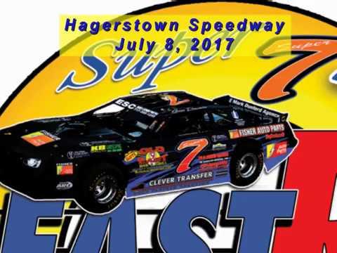Super 7 at Hagerstown Speedway 070817