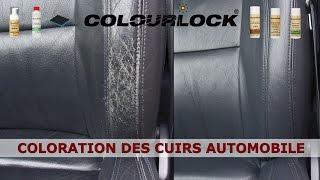 Cuir Automobile - Entretien du cuir - www.colourlock.fr