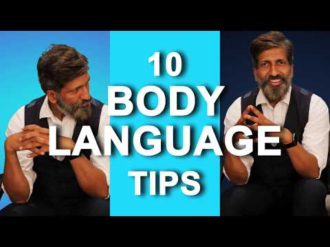 10 BODY LANGUAGE TIPS | Personality Development By Anurag Aggarwal