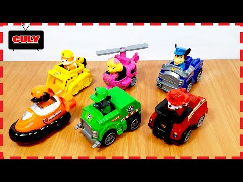 6 Bộ biệt đội chó cứu hộ đồ chơi trẻ em Paw Patrol toys collection thumbnail