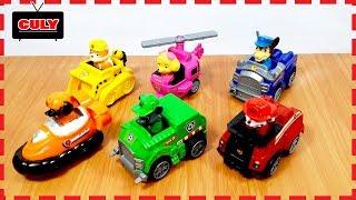 6 Bộ biệt đội chó cứu hộ đồ chơi trẻ em Paw Patrol toys collection