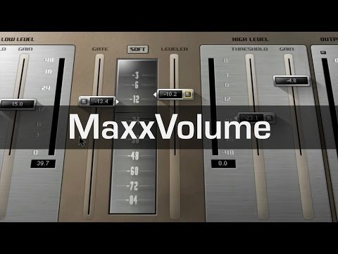 Mix and Master with the Waves MaxxVolume Plugin