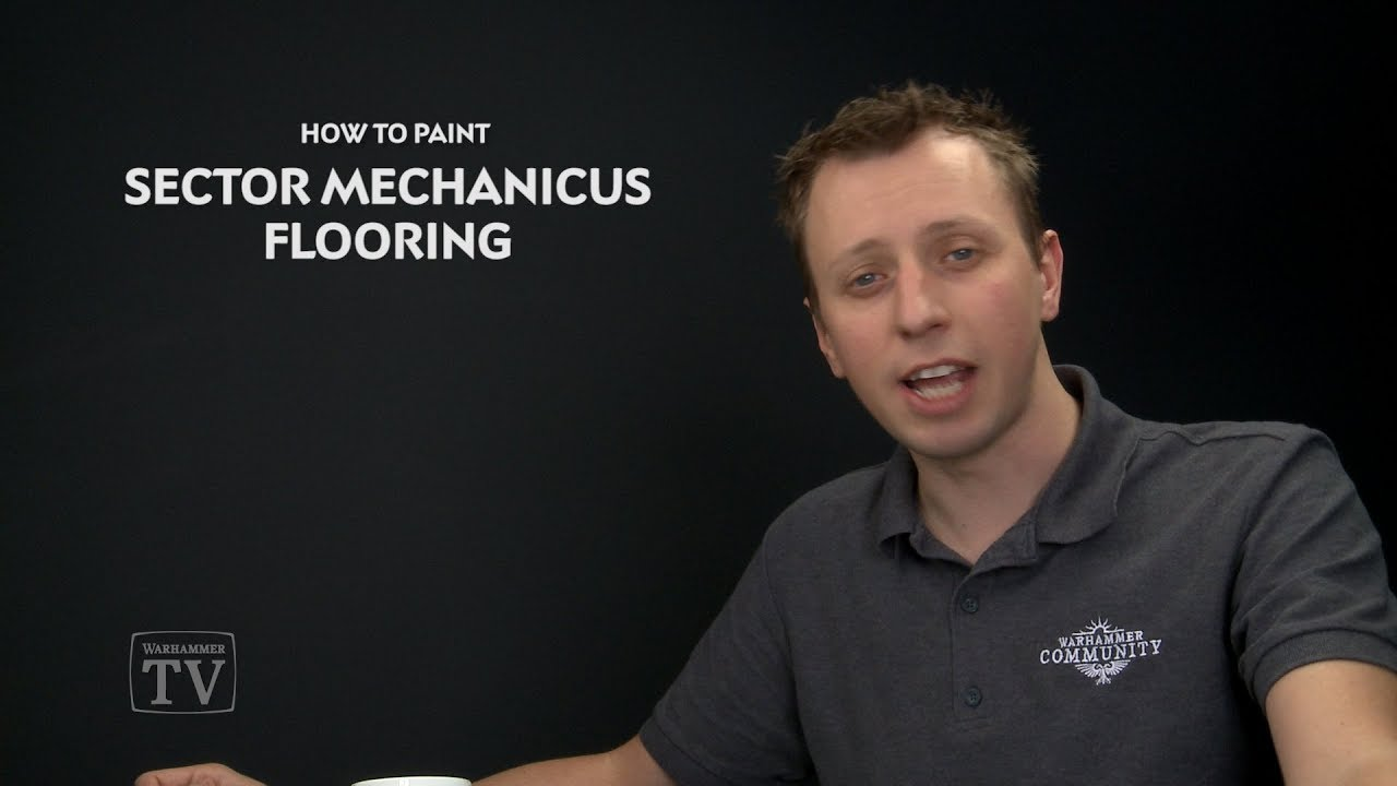 WHTV Tip of the Day - Sector Mechanicus Flooring