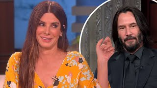 Keanu Reeves Being Thirsted Over By Female Celebrities! (Sandra Bullock, Winona Ryder +)
