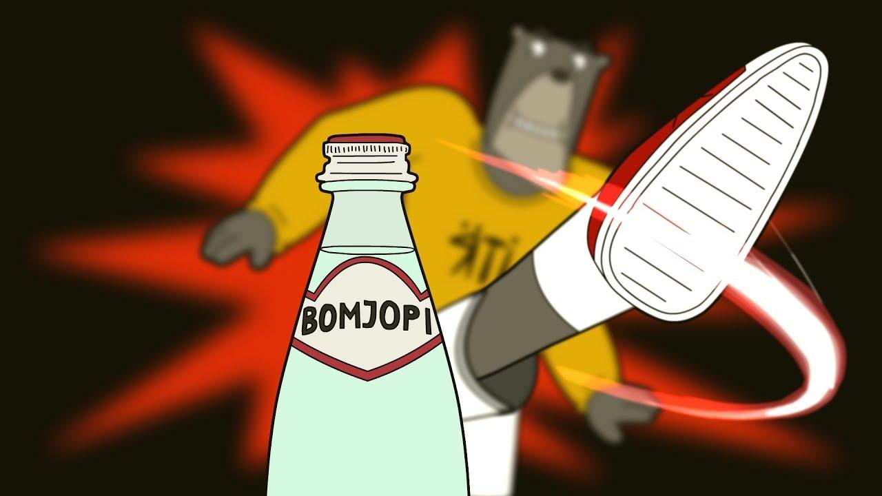 Мишка Ять и Bottle cup challenge. YAT TV