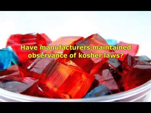Rabbi Binyomin Lisbon Discusses Certification Processes for Kosher Gelatin