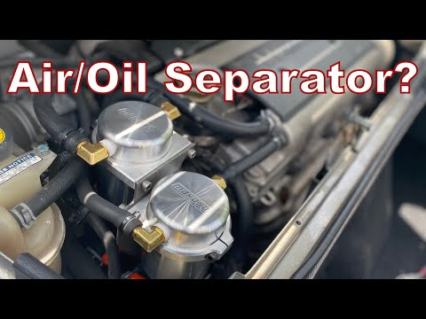 How to Install MOROSO Air Oil Separator on a LOTUS ELISE Dual Catch Cans Exige 2ZZ 2ZZGE #85494