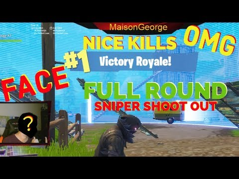 Fortnite Full Round Sn|per Shootout with Facecam
