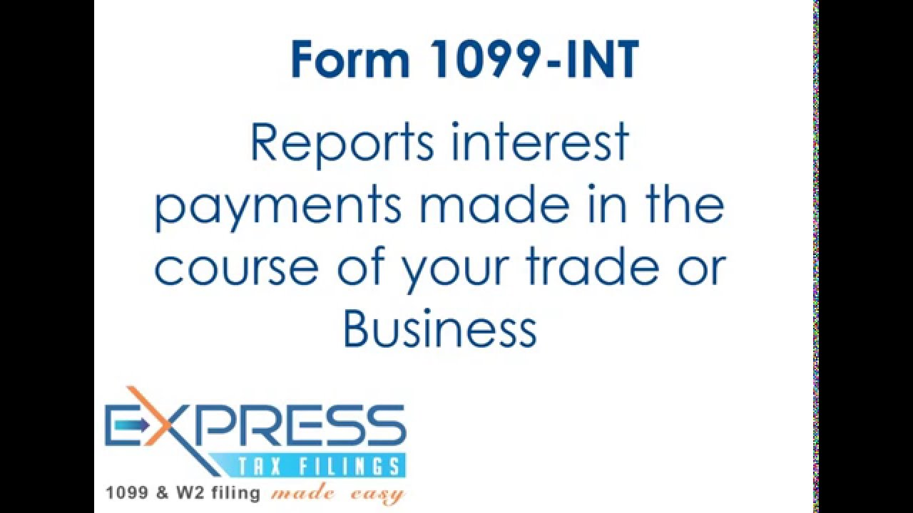 Irs form 1099 int youtube irs form 1099 int falaconquin