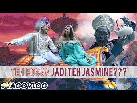 TEH ROSSA JADI TEH JASMINE??? | #VAgoVLOG S02E03