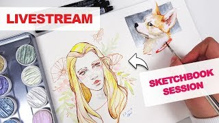 Sketchbook Session - LIVESTREAM thumbnail