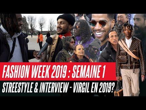 FASHION WEEK 2019 : STREETSTYLE ET ITW ! 2019 ENCORE UNE ANNÉE POUR VIRGIL ABLOH 👀 ?