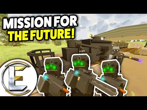 STOPPING A HEAVILY ARMORED TRAIN! - Unturned Roleplay (Mission For The Future) France 1944