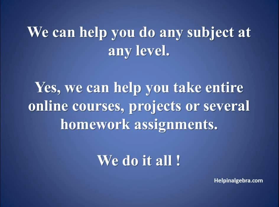 i need help on solving my online math problem homework || Tel : (281 ...