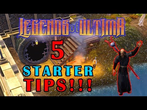 Legends of Ultima – New Player Guide and 5 Tips For Beginners!