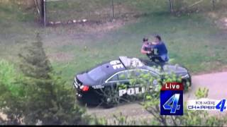FIST FIGHT Between Suspect and Police at End of Police Chase in Oklahoma City  | Police Fails