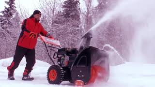 Обзор Бензиновые снегоуборщики PATRIOT PRO 655 Е и PATRIOT PRO 650