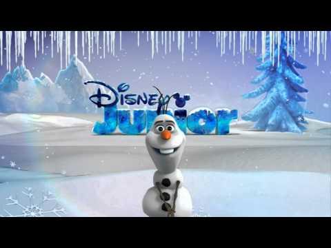 Disney Junior HD UK - Frozen Advert / Christmas Accent 2014 [King Of TV Sat]