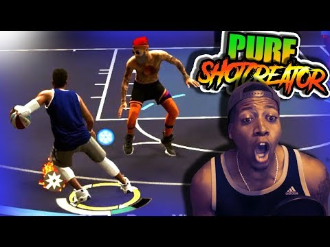 6'4 PURE Shot Creator NO BADGES Capping UP - NBA 2K19 Ruffles