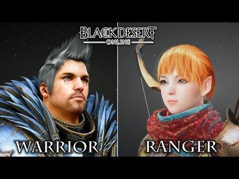 WARRIOR dan RANGER - Black Desert Online SEA [PC] indonesia - 동영상