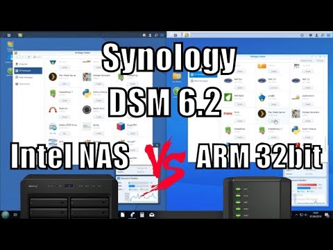 Synology DSM 6.2  - Weak NAS vs Powerful NAS Comparison 2019