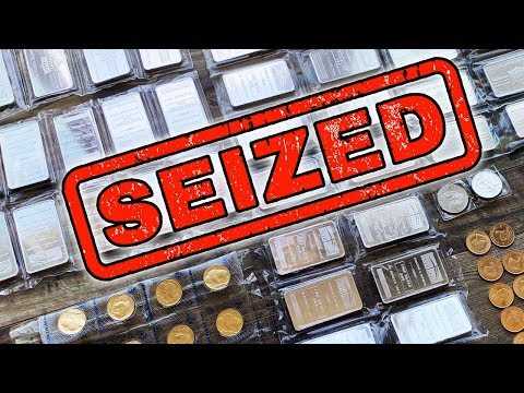 Think Your Precious Metals Are Safe From Confiscation? Think Again!
