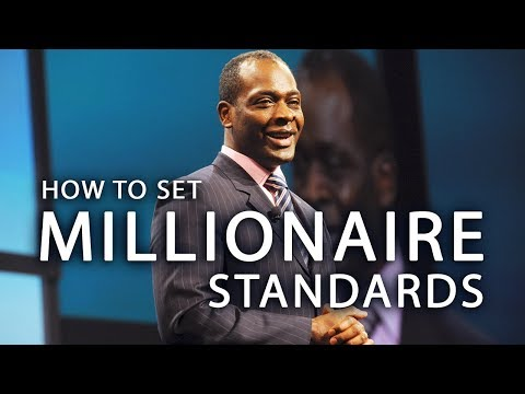 How to Set Millionaire Standards For Success - Derek Mills