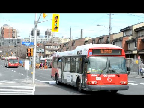 OTTAWA OC TRANSPO BUSES IN ACTION