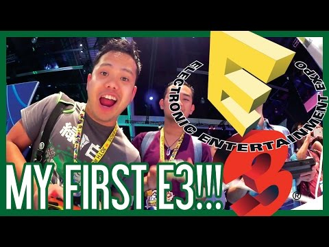 E3 2015 - My First Electronic Entertainment Expo!