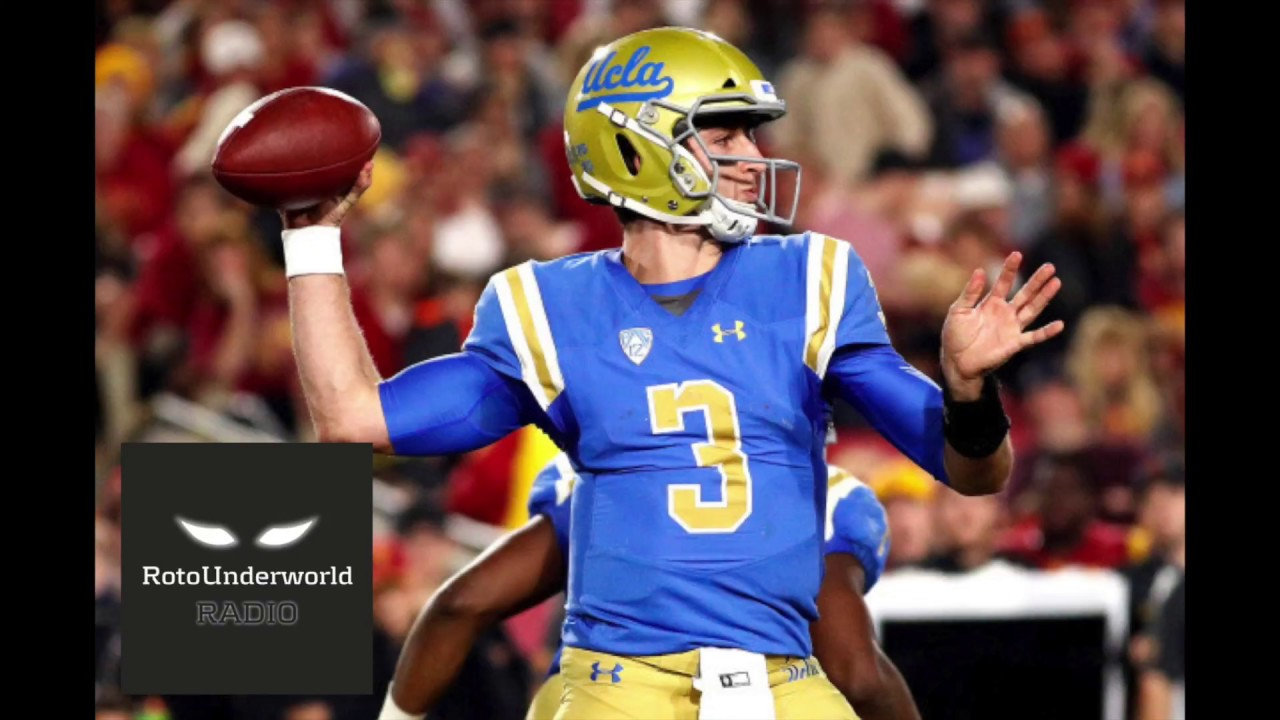 new product 1f8dd e1824 The streaky, overrated Josh Rosen looks like Eli Manning and Trent Green  had a baby