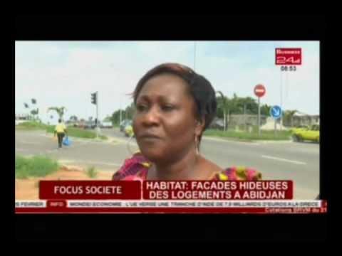 Business 24 / Focus Societe - Habitat Facades hideuses des logements a Abidjan