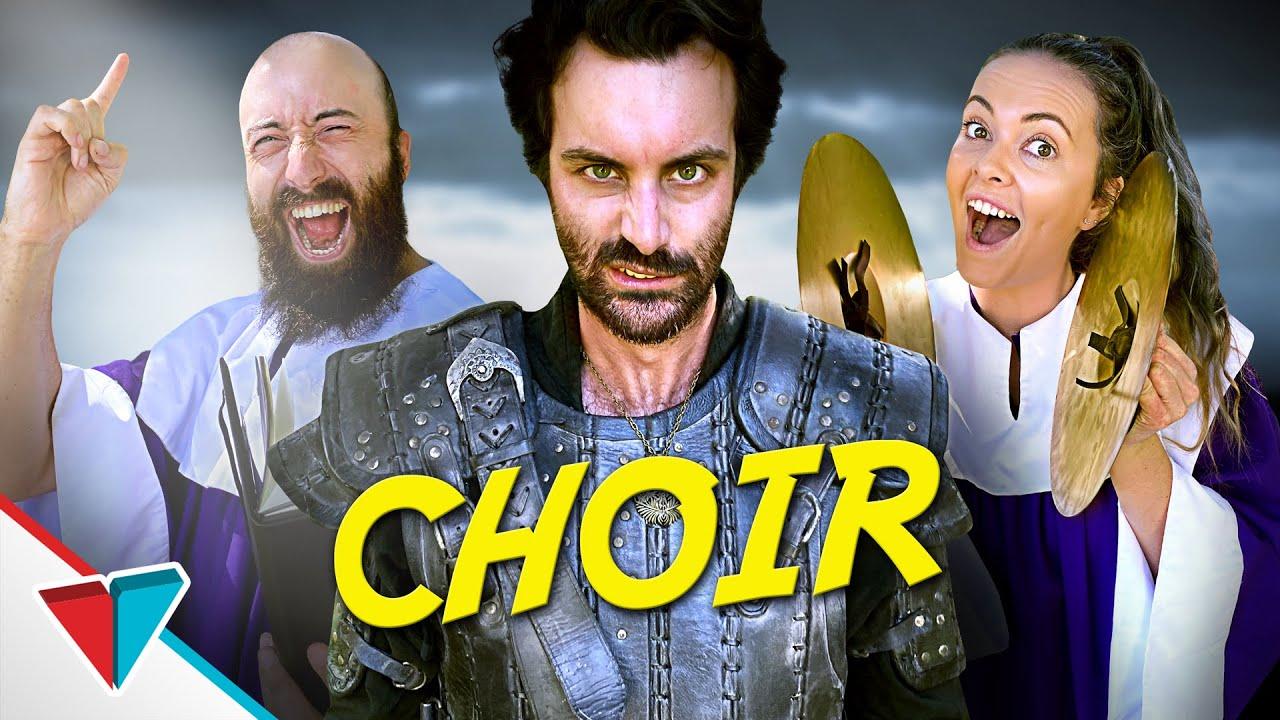 Strange Witcher quest music - NPC Choir