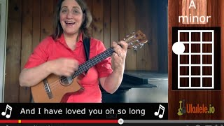 Easy Ukulele Song Greensleeves by 21 Songs in 6 Days: Learn Ukulele the Easy Way