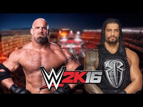 GOLDBERG VS ROMAN REIGNS - WWE...