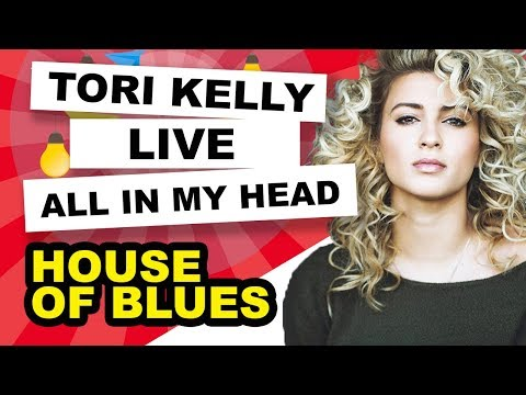 Tori Kelly - All In My Head - Live @ The House of Blues LA 8-9-12