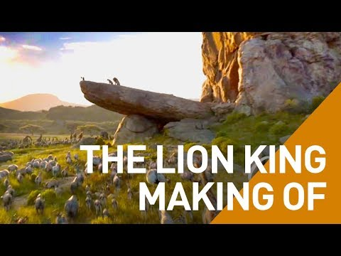 The Lion King 2019 Making Of