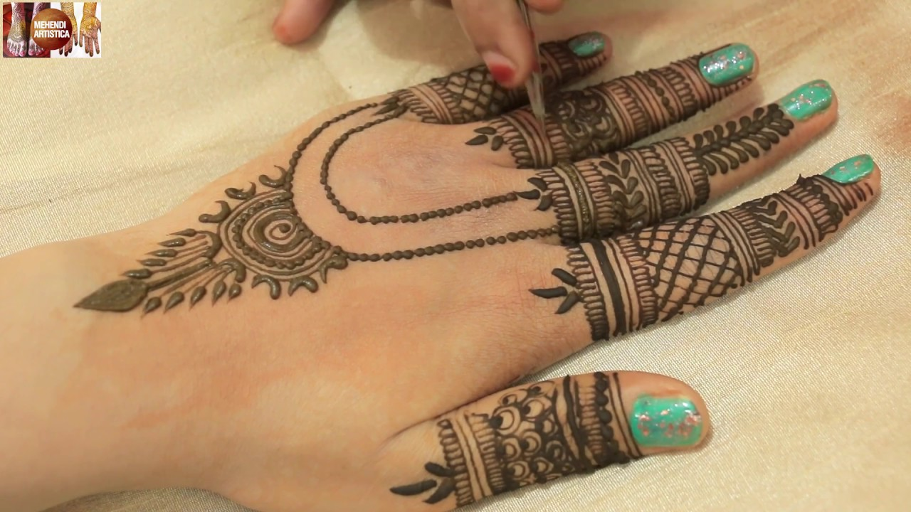 Beautiful Finger Jewelry Design Mehndi For Hands Intricate Fingers