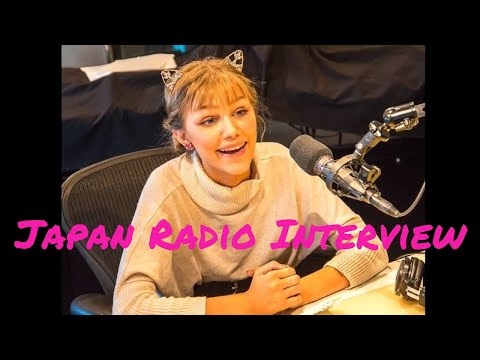 Grace VanderWaal - Japan Radio Interview Tokio Hot 100 w/ Navigator