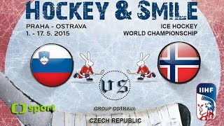 Slovenia vs. Norway - Ice Hockey World Championschip 2015