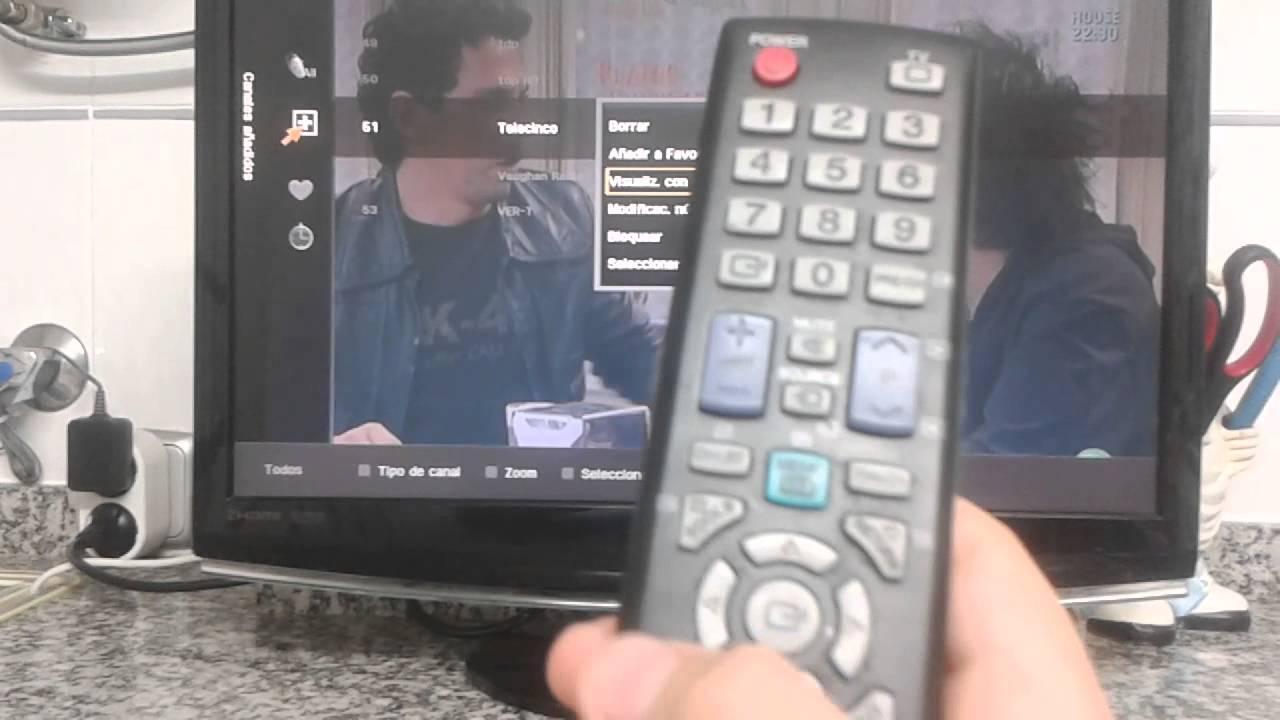 Como Ordenar Los Canales En La Tele Samsung Youtube