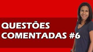 Questões Comentadas Português Fundação Carlos Chagas | FCC | #6