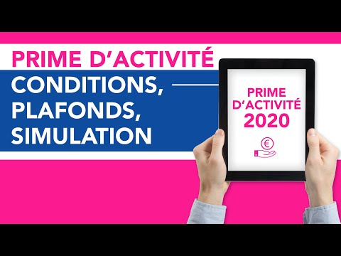 Prime d'activité 2020 : conditions, plafonds, simulation