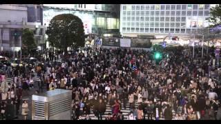 Shibuya Crossing Tokyo - 4k