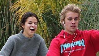 Justin Bieber & Selena Gomez Share Romantic Bike Ride & Caught Cuddling