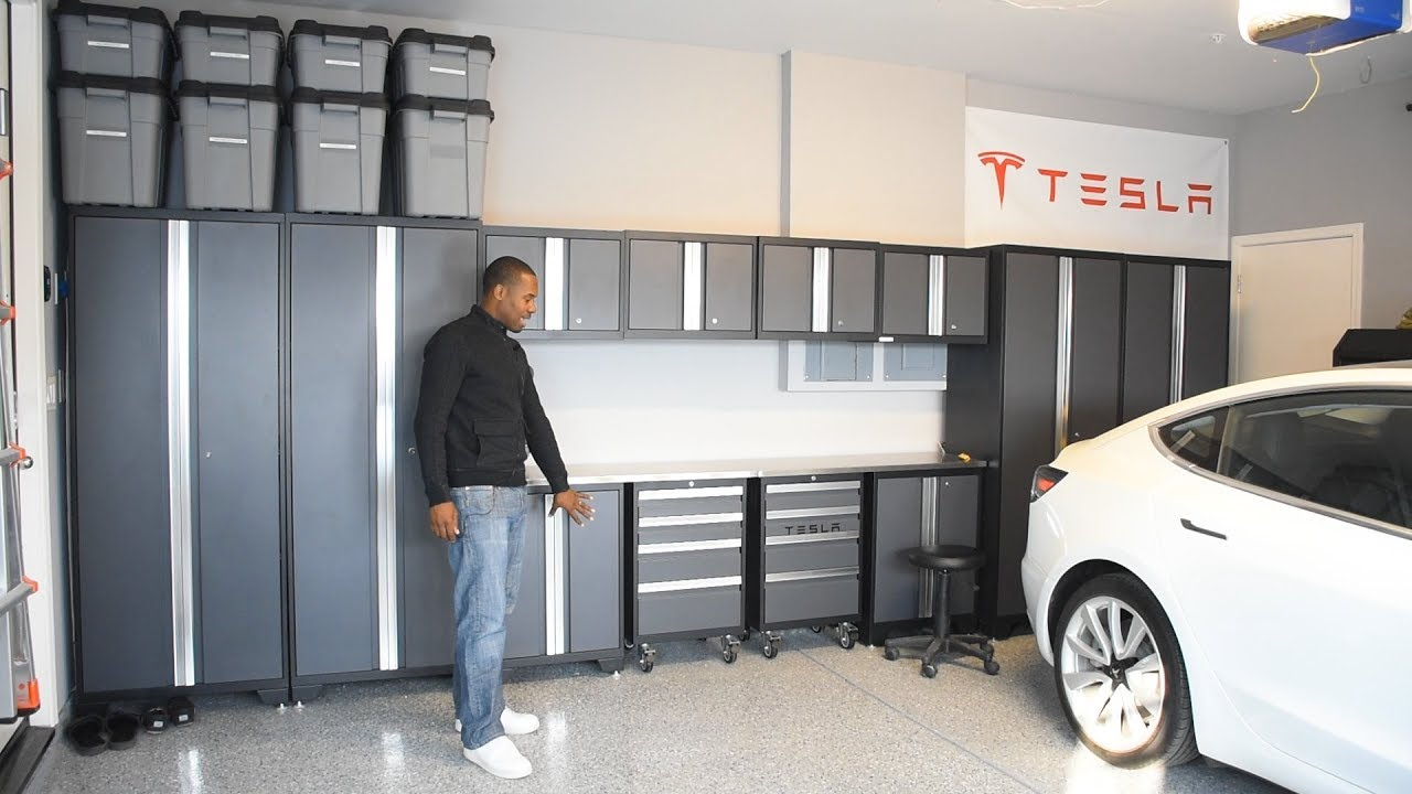 Bold 3 0 Gray Steel Garage Cabinets