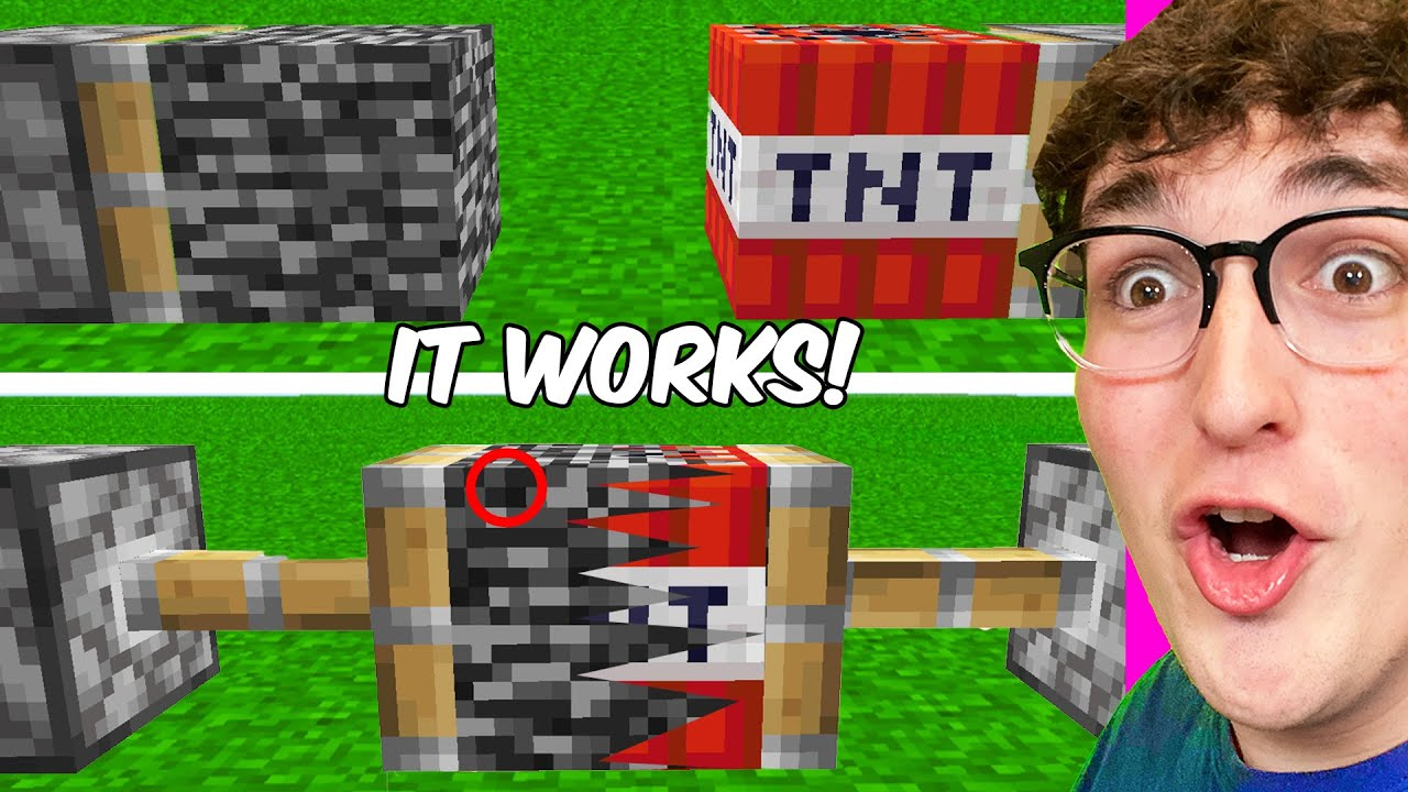 Testing Viral Minecraft Hacks That ACTUALLY Work 100%