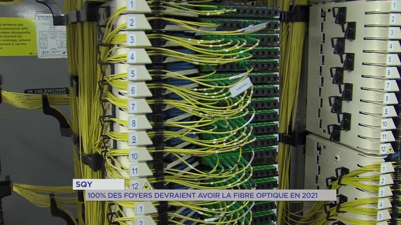 Yvelines | SQY : 100% des foyers devraient avoir la fibre optique en 2021